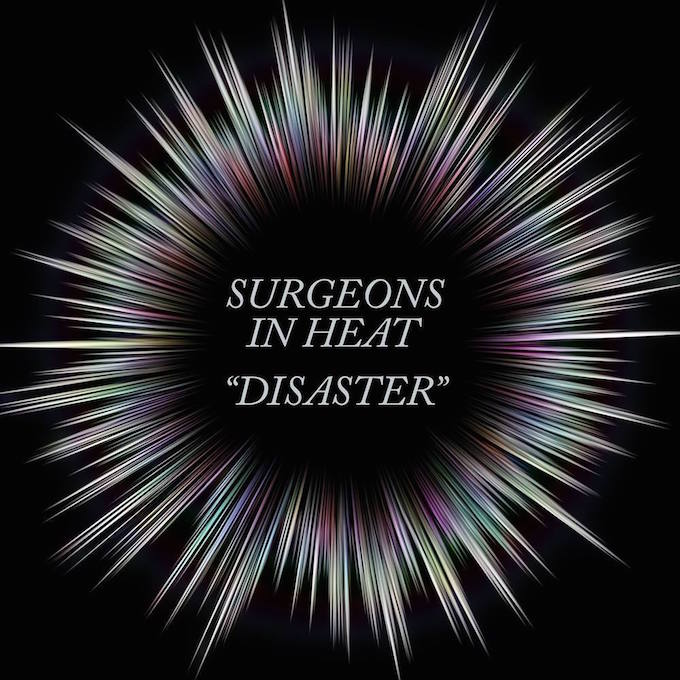 "Albumcover Surgeons In Heat ""Disaster"""