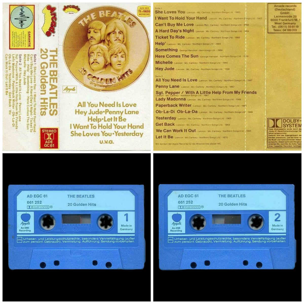 blaue cassette